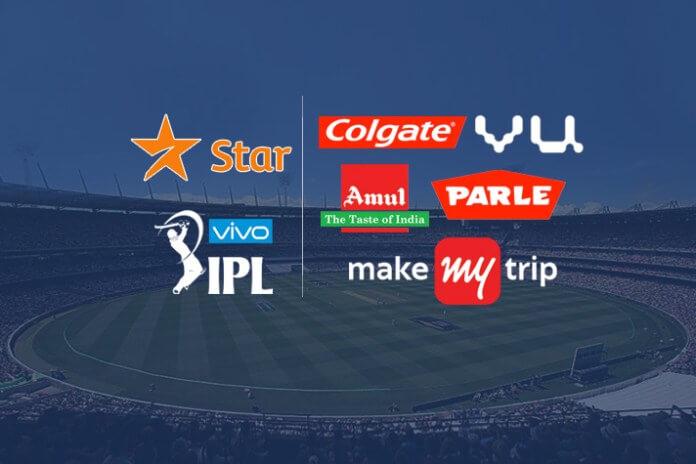 Sponsor list in Vivo IPL 2018