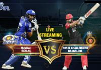 MI vs RCB Live Streaming