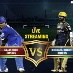 RR vs KKR Live Streaming