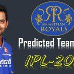 Rajasthan Royals Team