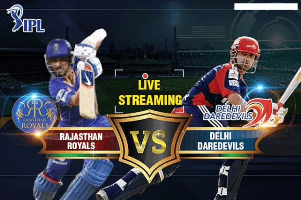 Rajasthan Royals vs Delhi Daredevils Live Streaming