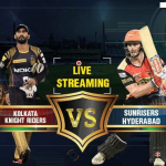 KKR vs SRH Live Streaming